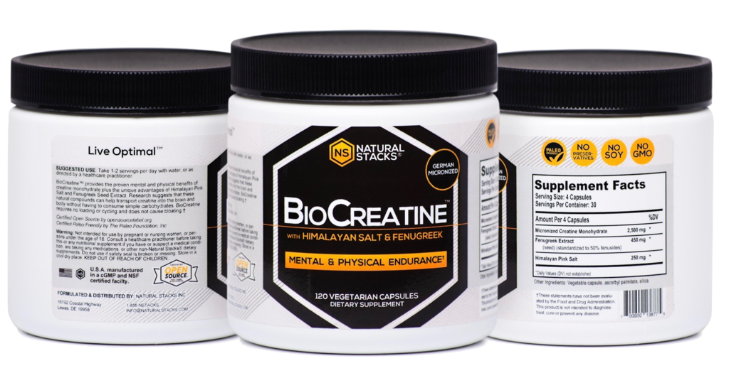 The Truth: Review of BioCreatine by Natural Stacks >>