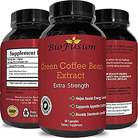 Green Coffee Bean Extract Weight Loss Supplement Natural
