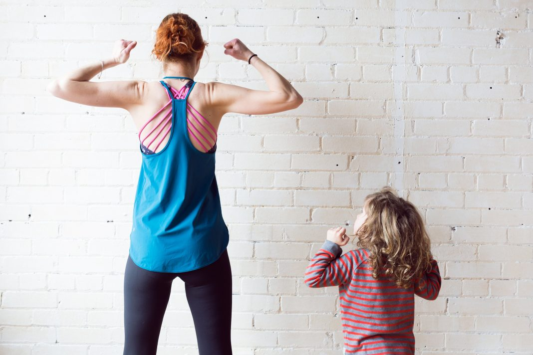 Home personal training-Photo by Sarah Pflug